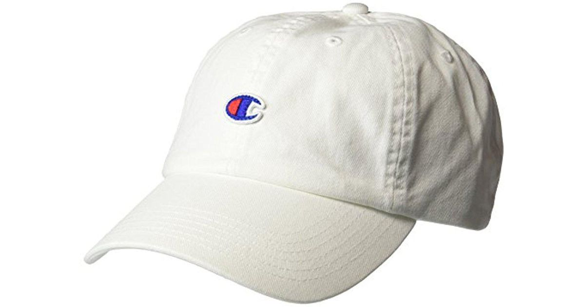 Lyst - Champion Father Dad Adjustable Cap in White for Men 12b665d1fda