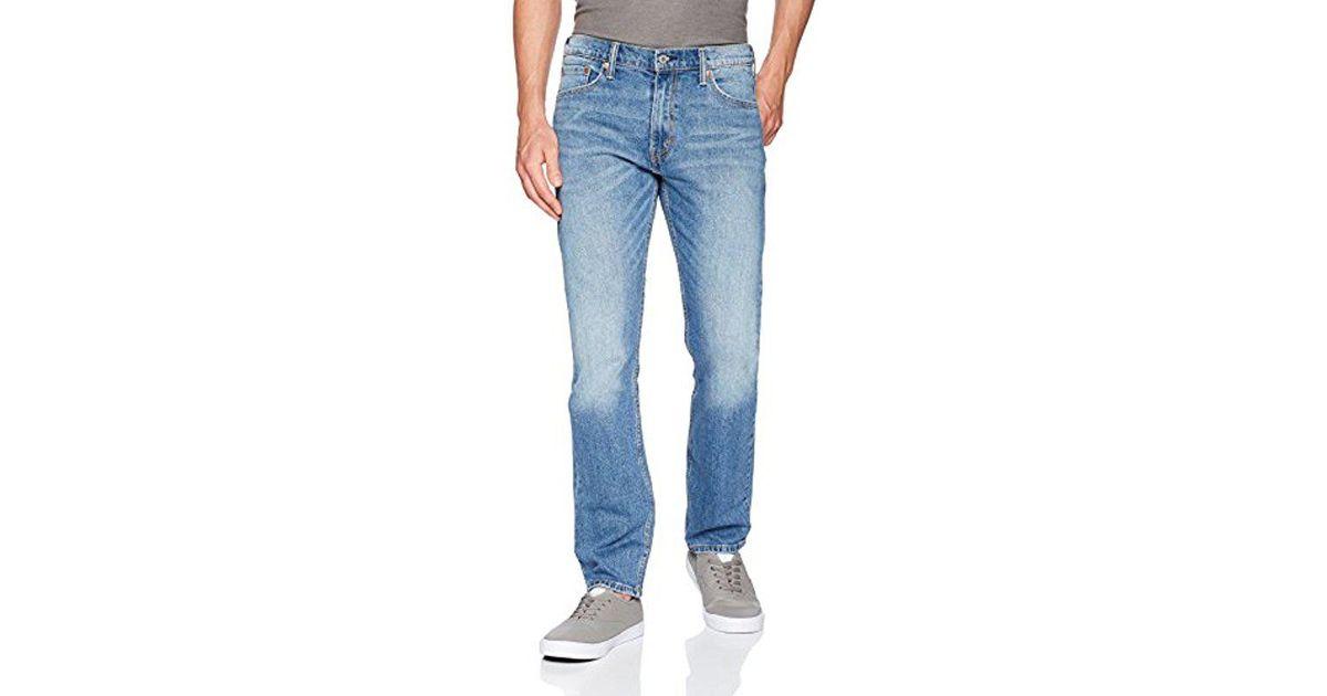 8ddaa6e3862 Lyst - Levi's 513 Slim Straight Jean in Blue for Men