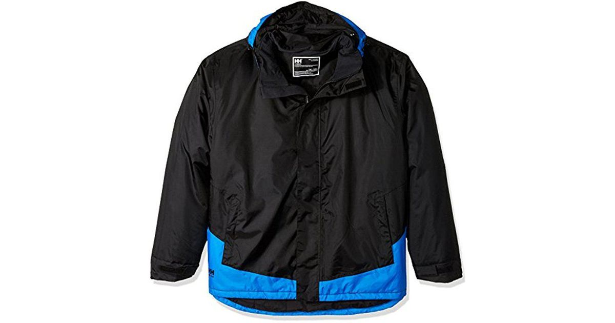 733f4094 Helly Hansen Big And Tall Leknes Insulated Jacket in Black for Men - Lyst