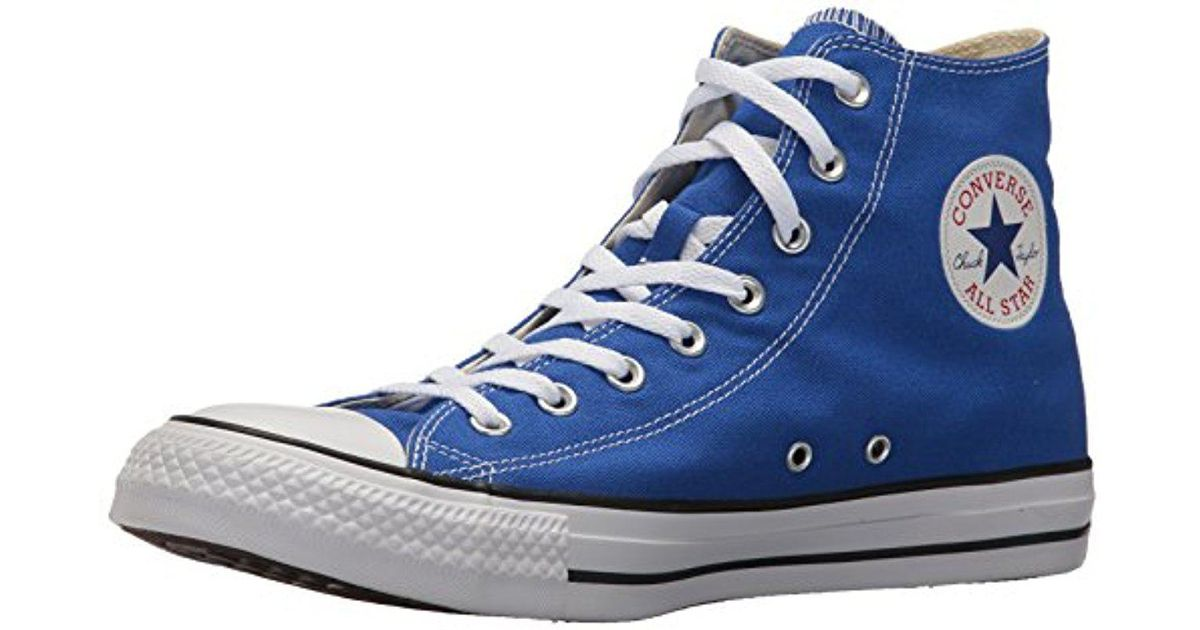 9fe6583a82c516 Lyst - Converse Chuck Taylor All Star Seasonal Canvas High Top Sneaker