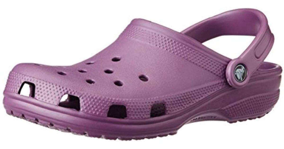 d69c62f19 Crocs™ Unisex Adult Classic Clogs in Purple - Lyst