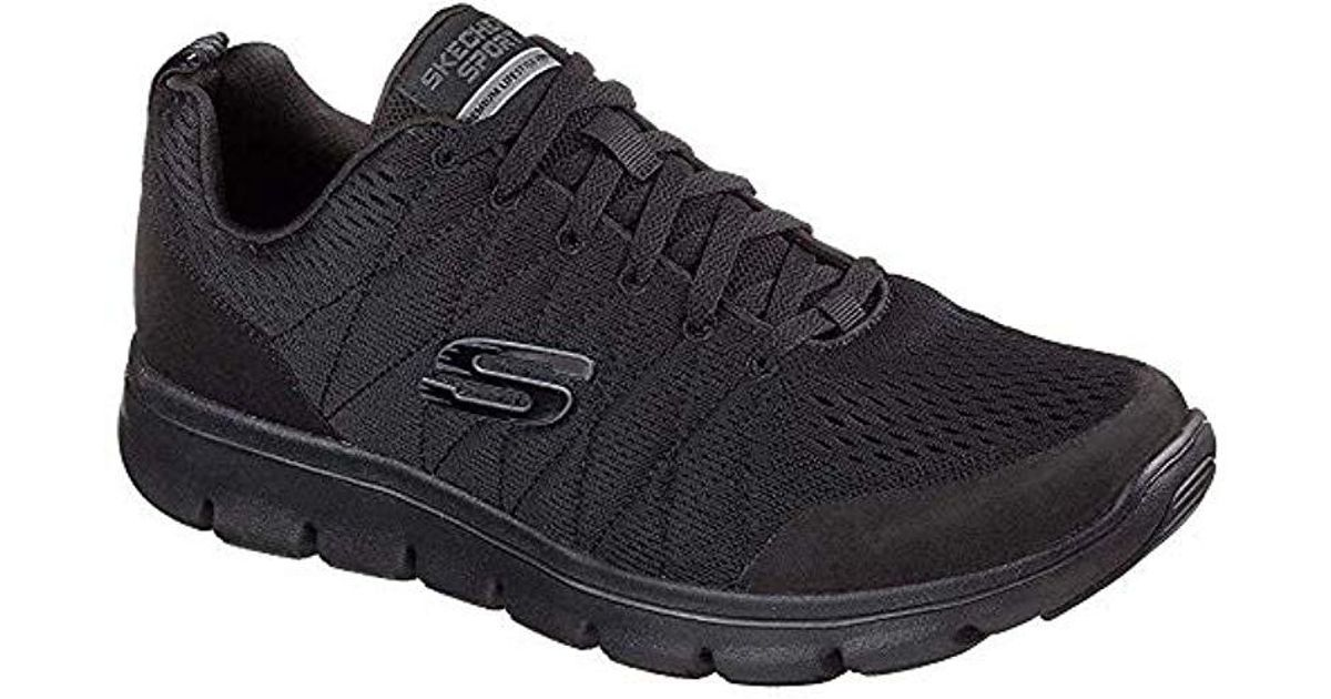 7152f4fbac7c7 Skechers 52832 Trainers in Black for Men - Save 22% - Lyst