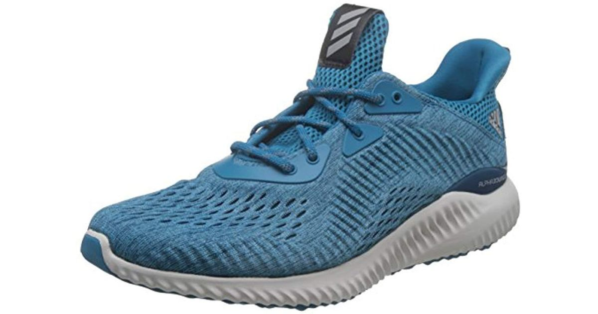 51600534b Adidas Alphabounce Em Competition Running Shoes in Blue for Men - Lyst