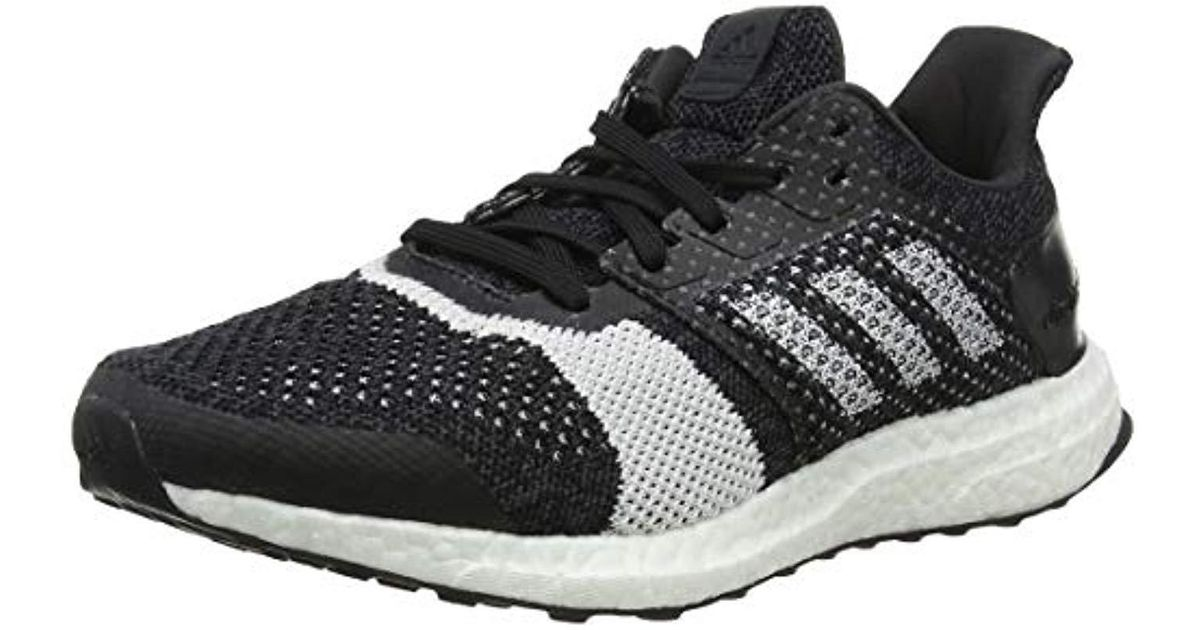 best loved 99a23 7cf5b adidas  s Ultraboost St M Running Shoes in Black for Men - Lyst