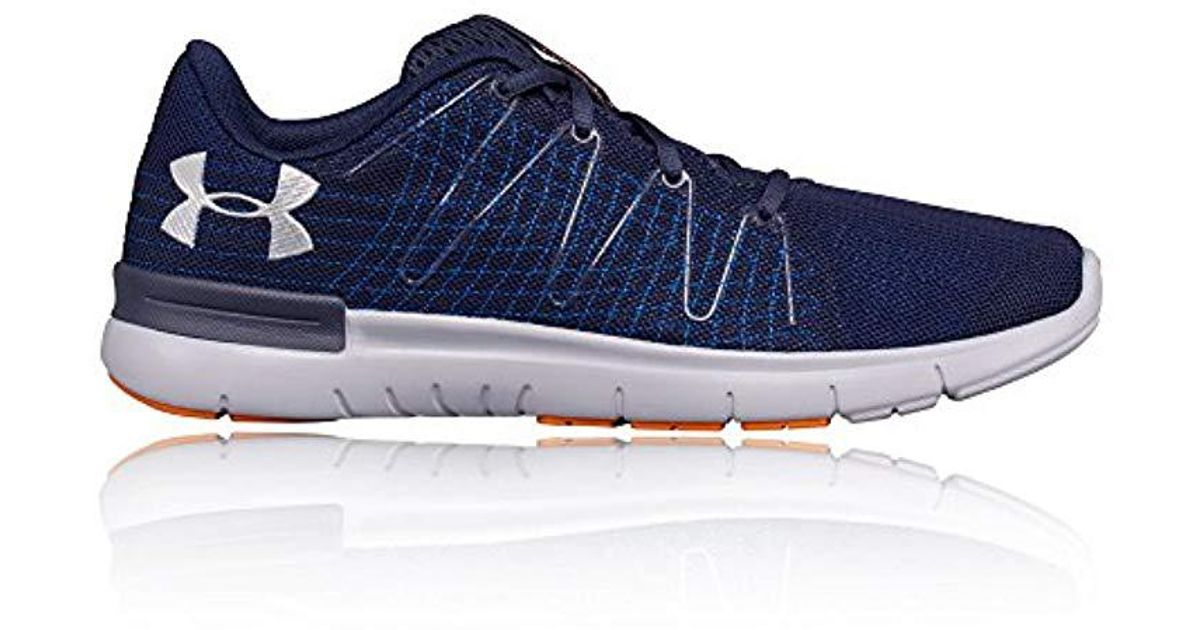 big sale 1e1ad 3cc11 Under Armour - Blue Ua Thrill 3 Running Shoes for Men - Lyst