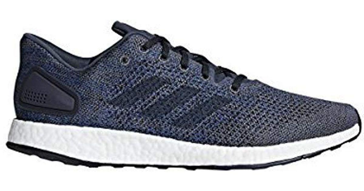 9823f32e48b4 Lyst - Adidas Pureboost Dpr Running Shoe in Blue for Men