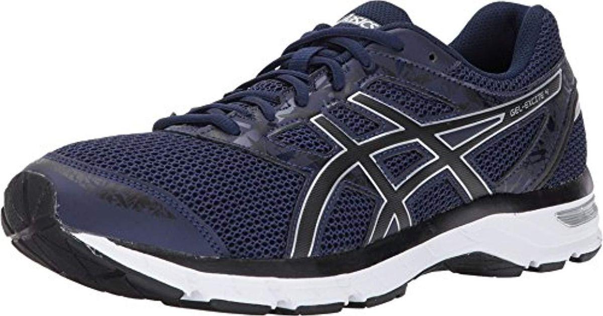 Asics Gel excite 4 Running Shoe (13 D(m) Us, Blueblacksilver) for Men Lyst