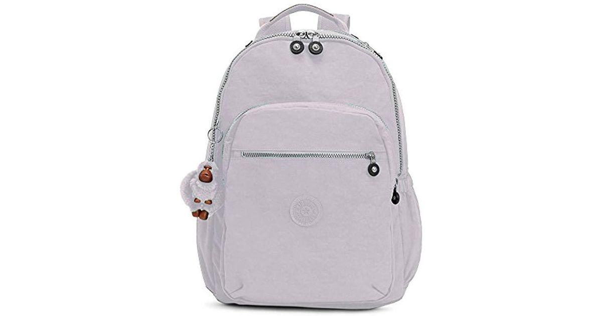 35552a611 Kipling Seoul Go Large Laptop Backpack in Gray - Lyst