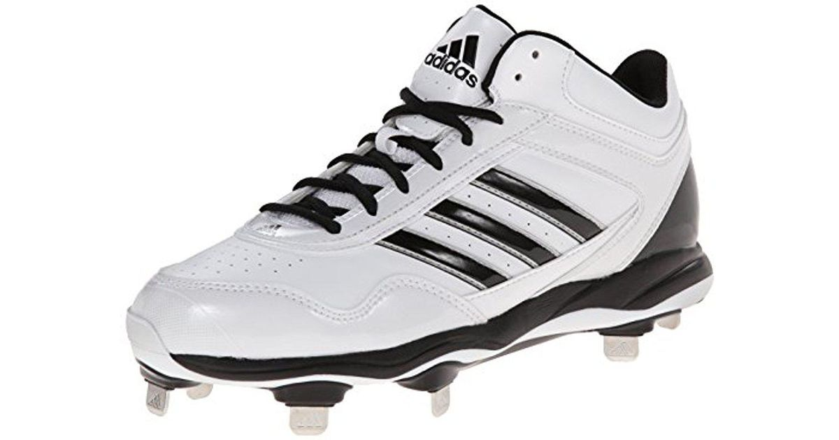 f3c1e75eddd2 Lyst - adidas Performance Excelsior Pro Metal Mid Baseball Cleats Turf Shoes  in Metallic for Men