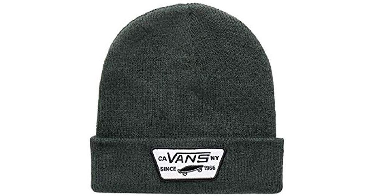 06ed1f34ca8 Vans Milford Beanie in Green for Men - Lyst