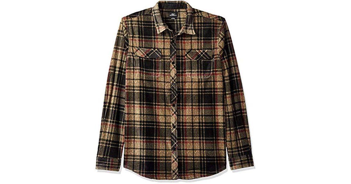 cb75c62d O'neill Sportswear Glacier Plaid Flannel for Men - Lyst