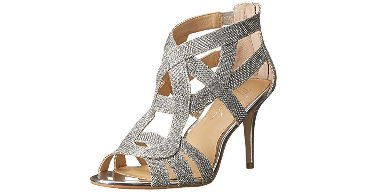 c7bb1f1a5e Marc Fisher Nala3 Strappy Dress Sandals in Metallic - Save 54% - Lyst