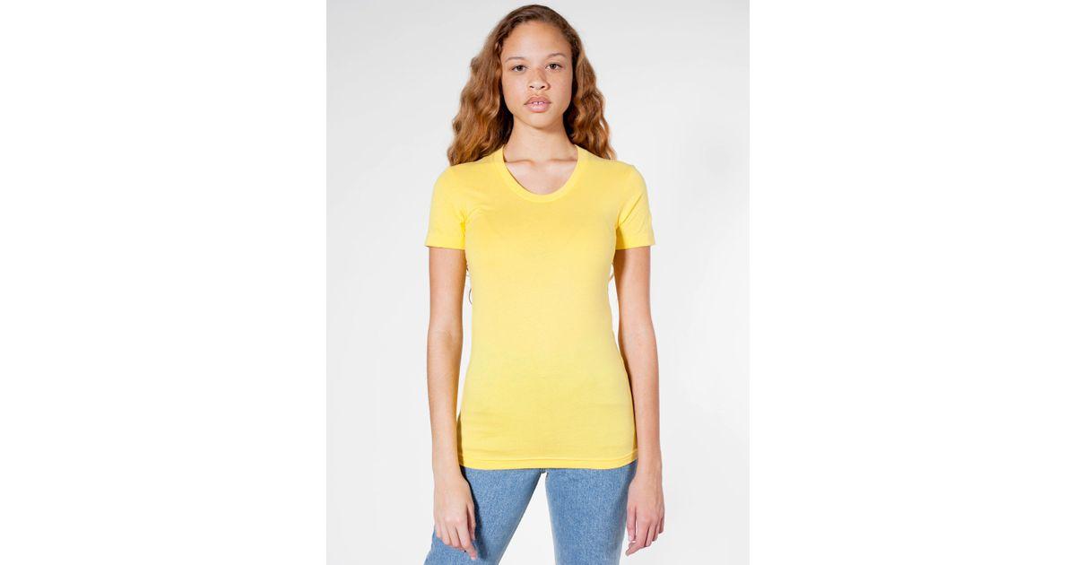 American apparel sheer jersey short sleeve women 39 s summer for American apparel mesh shirt