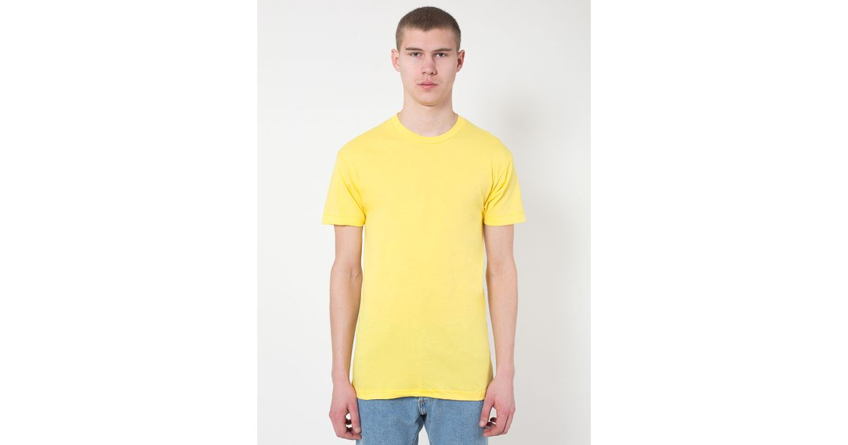 American Apparel Sheer Jersey Crewneck 39 Summer 39 T Shirt In