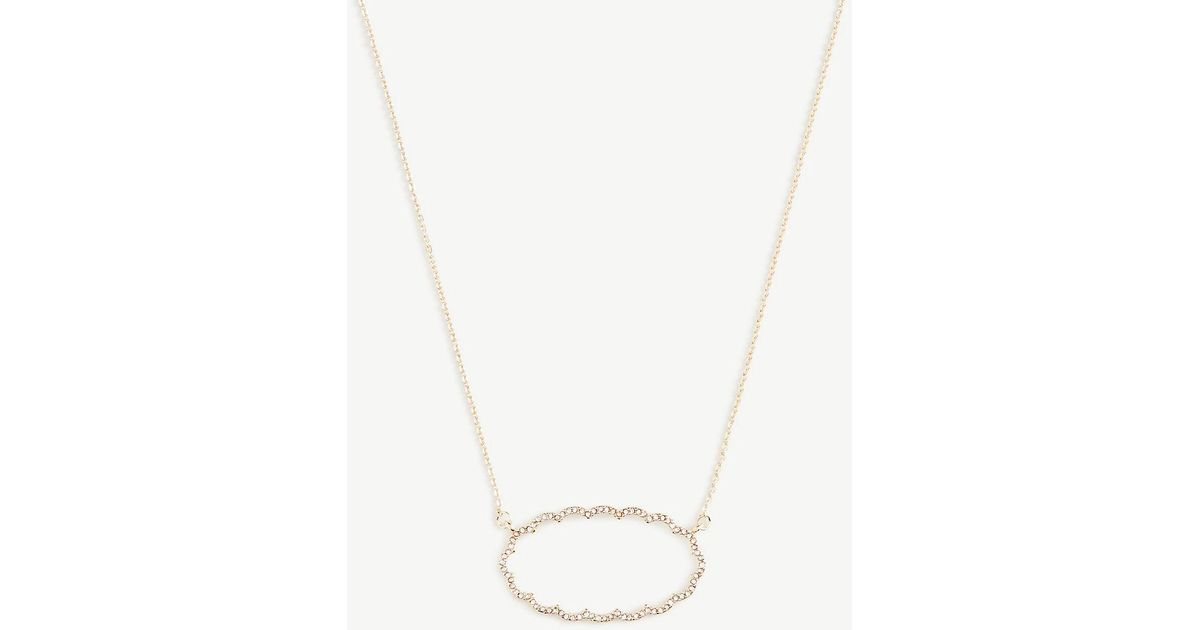 hot off necklace snag pave scallop taylor shop sale this ann