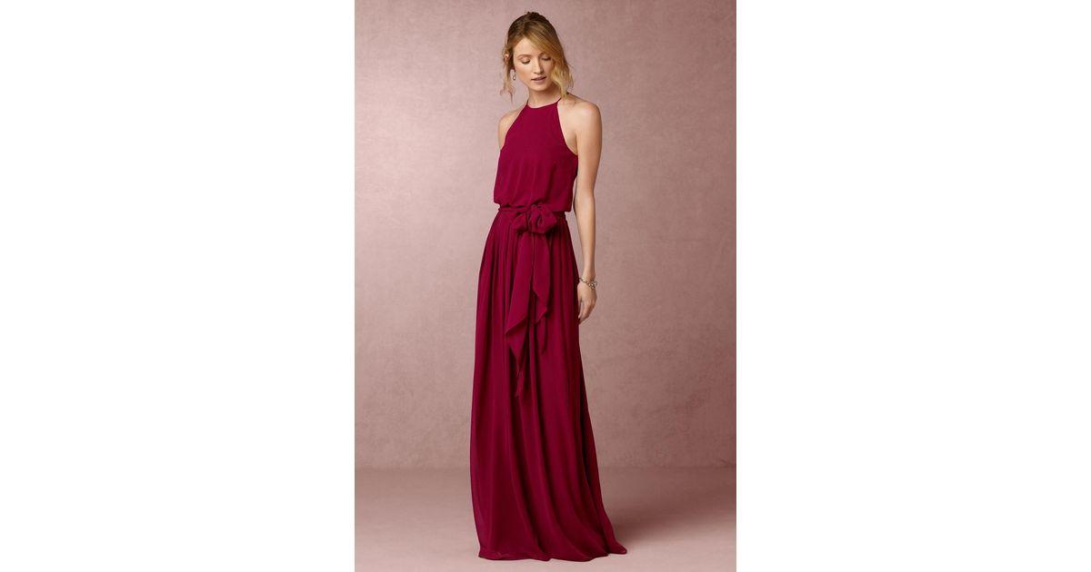 d9ee7b3c1bdac Lyst - Anthropologie Alana Dress in Red - Save 66%