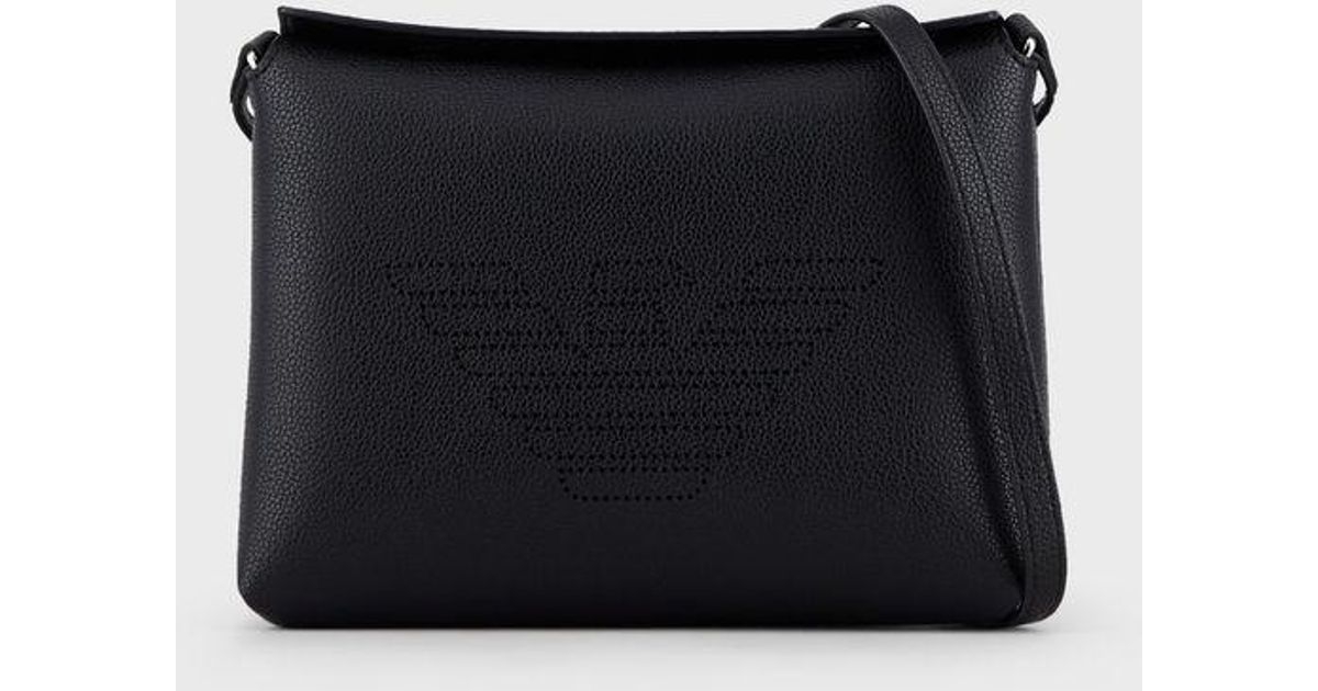 8a49144540 Emporio Armani - Black Crossbody Bag - Lyst