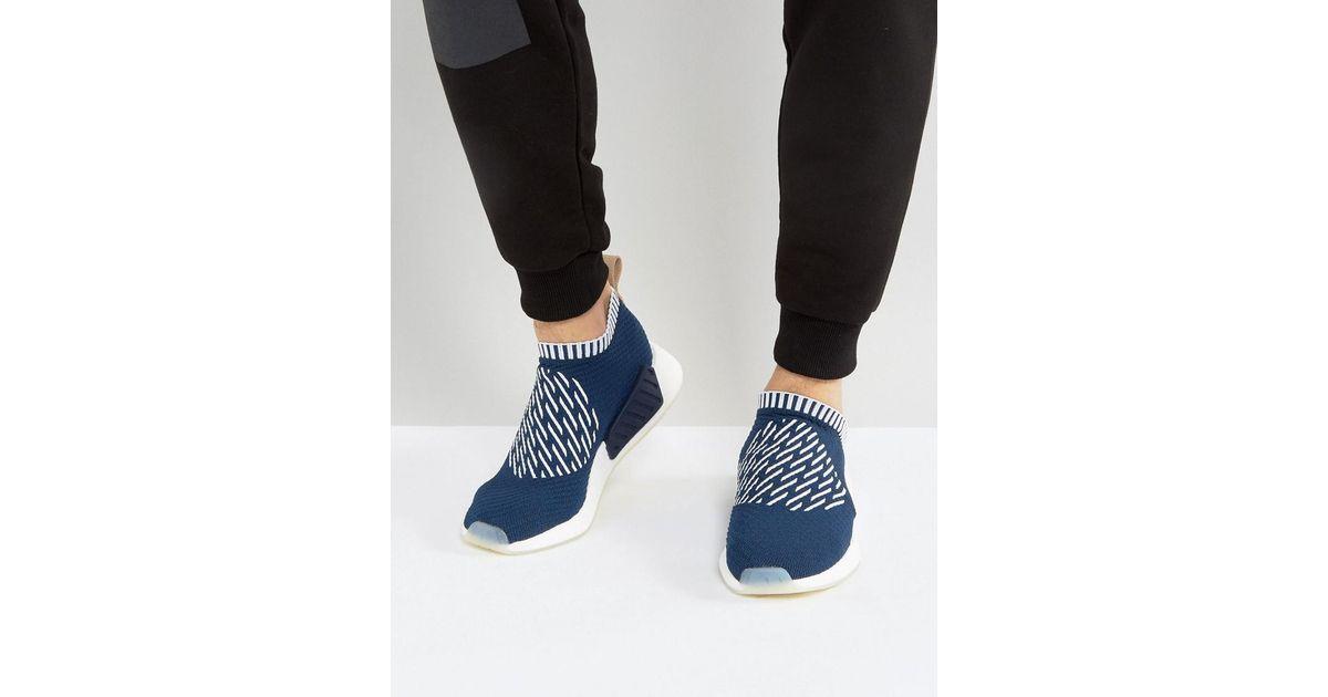 d48edb85e Lyst - Adidas Originals Nmd cs2 Pk Sneakers In Navy Ba7189 in Blue for Men