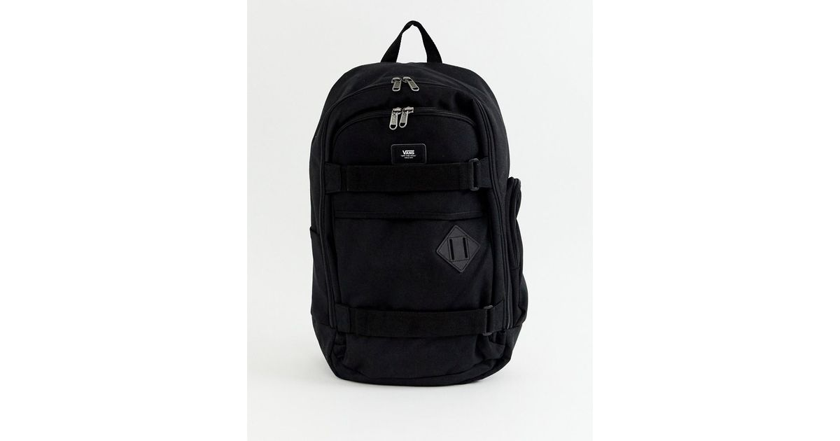 2570081e20985 Vans Transient Iii Backpack In Black in Black for Men - Lyst