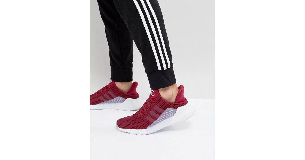 competitive price 5613e 7f57b Lyst - adidas Originals Climacool 0217 Sneakers In Red Bz0247 in Red for  Men