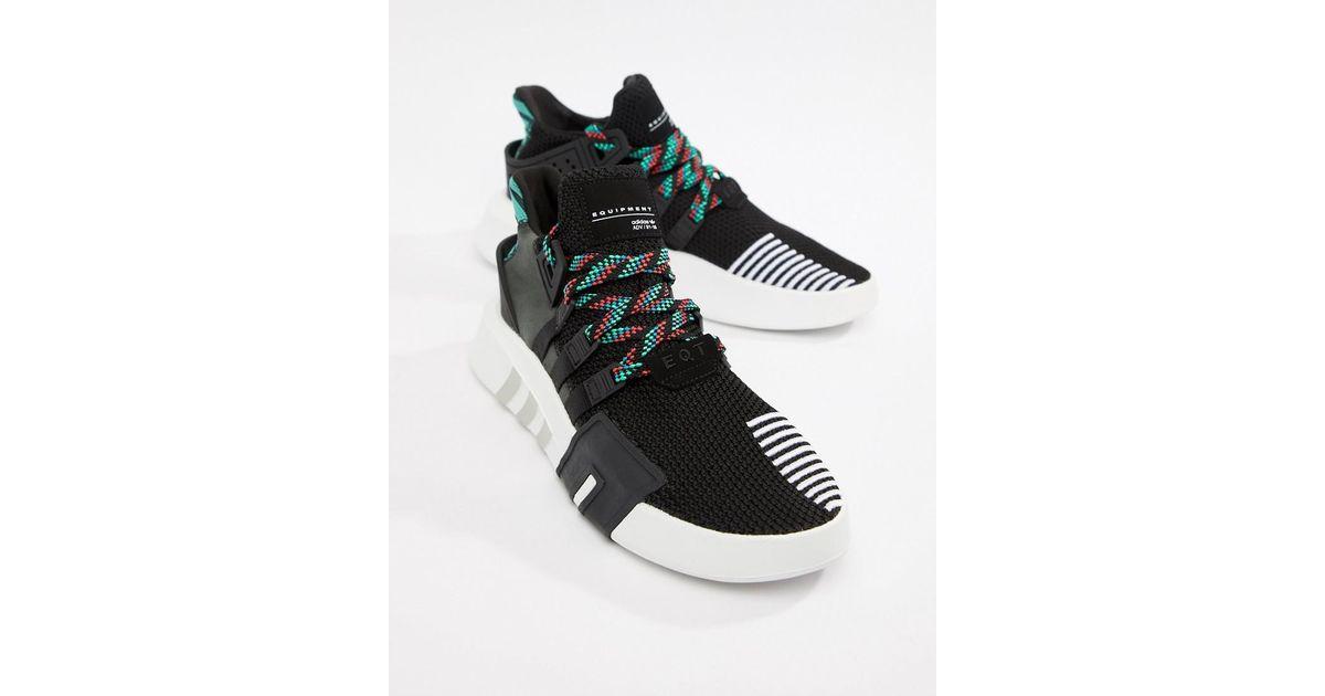 Lyst - adidas Originals Eqt Basket Adv Trainers In Black Cq2993 in Black  for Men a48f64fc55f4