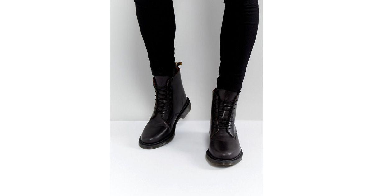 Lyst - Dr. Martens Eldritch 8 Eye Boots in Black for Men b17ee74d2c