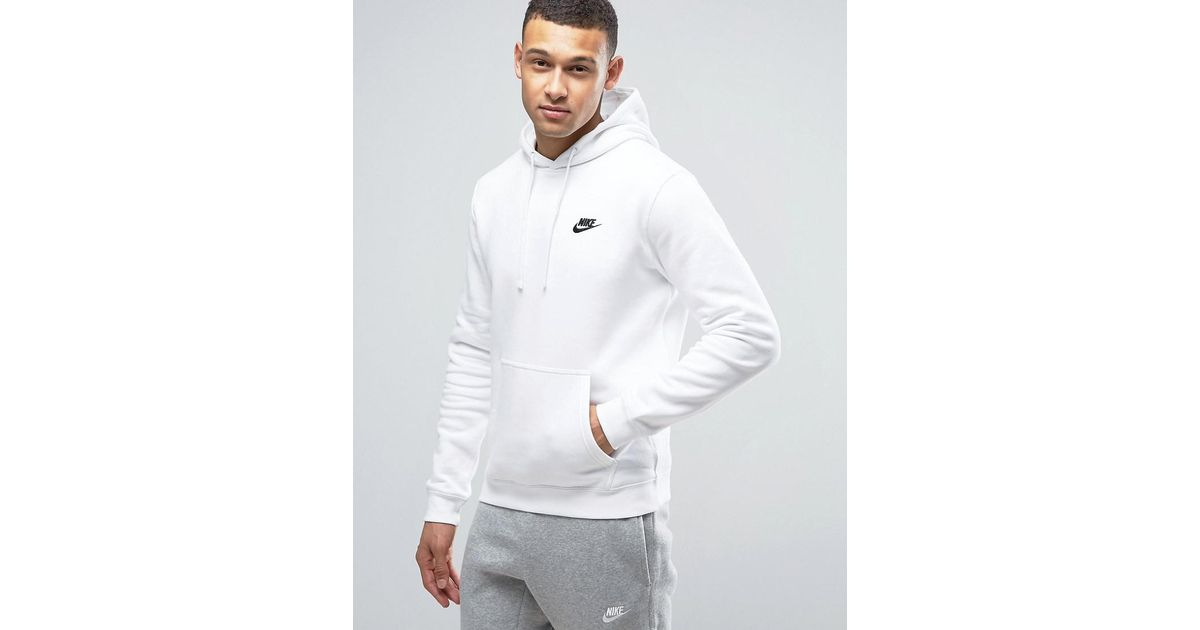 Club Fleece Pullover Hoodie In Blue 804346-413 - Blue Nike Cheap Prices Nicekicks Cheap Online Fashionable Online Sale Big Discount Buy Cheap Pick A Best pkrVs