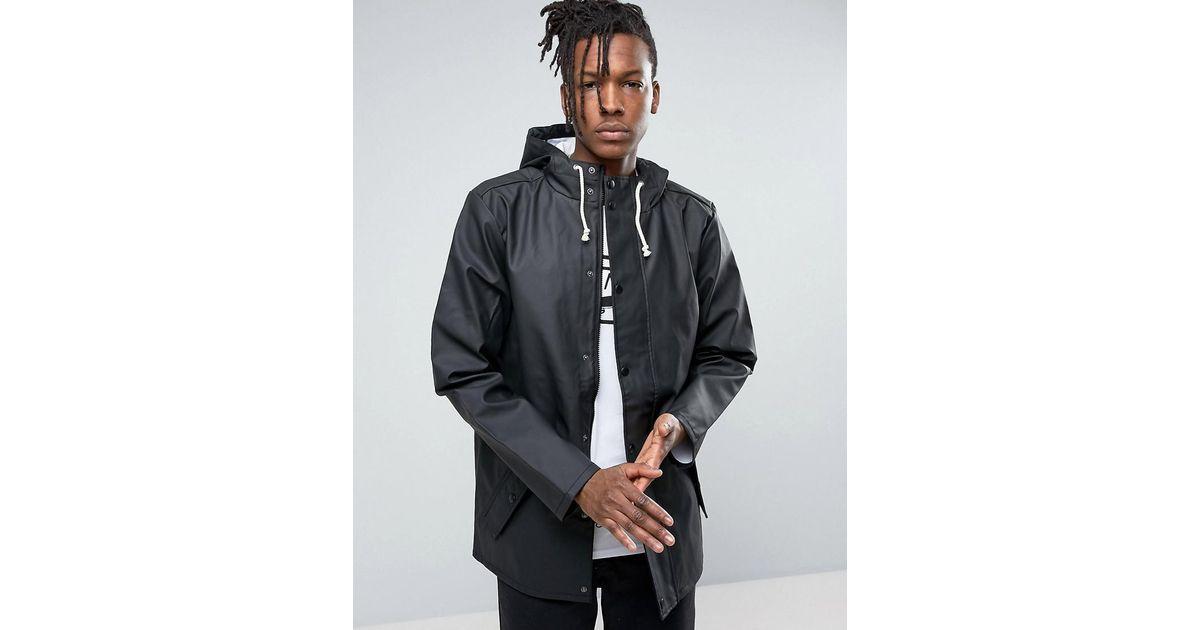 4eb7e33e6d Vans Junipero Jacket In Black in Black for Men - Lyst