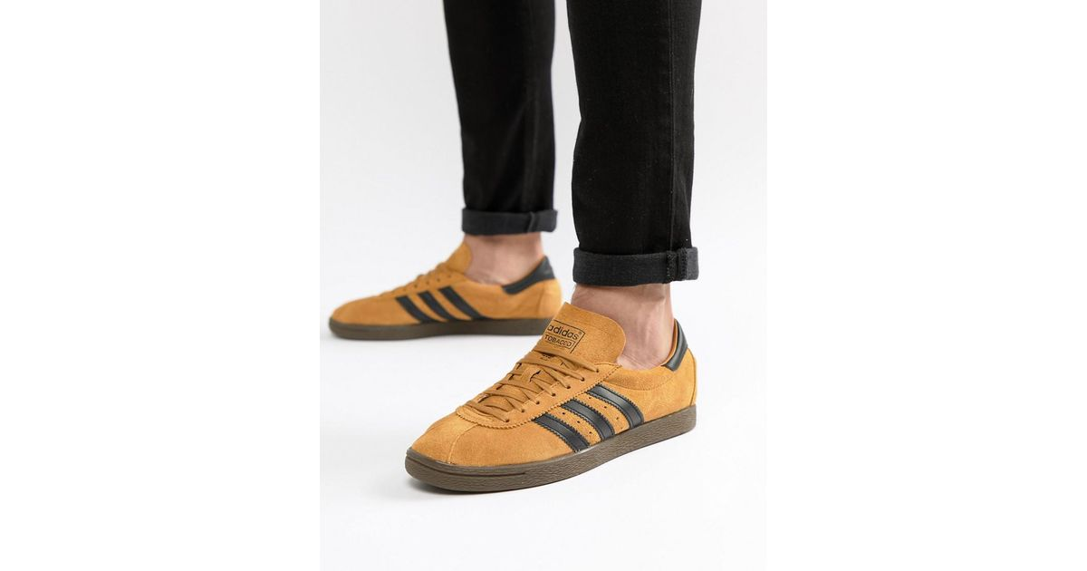 adidas Originals Tobacco Sneakers In Yellow Cq2761 in Yellow for Men - Lyst 7cf56788a
