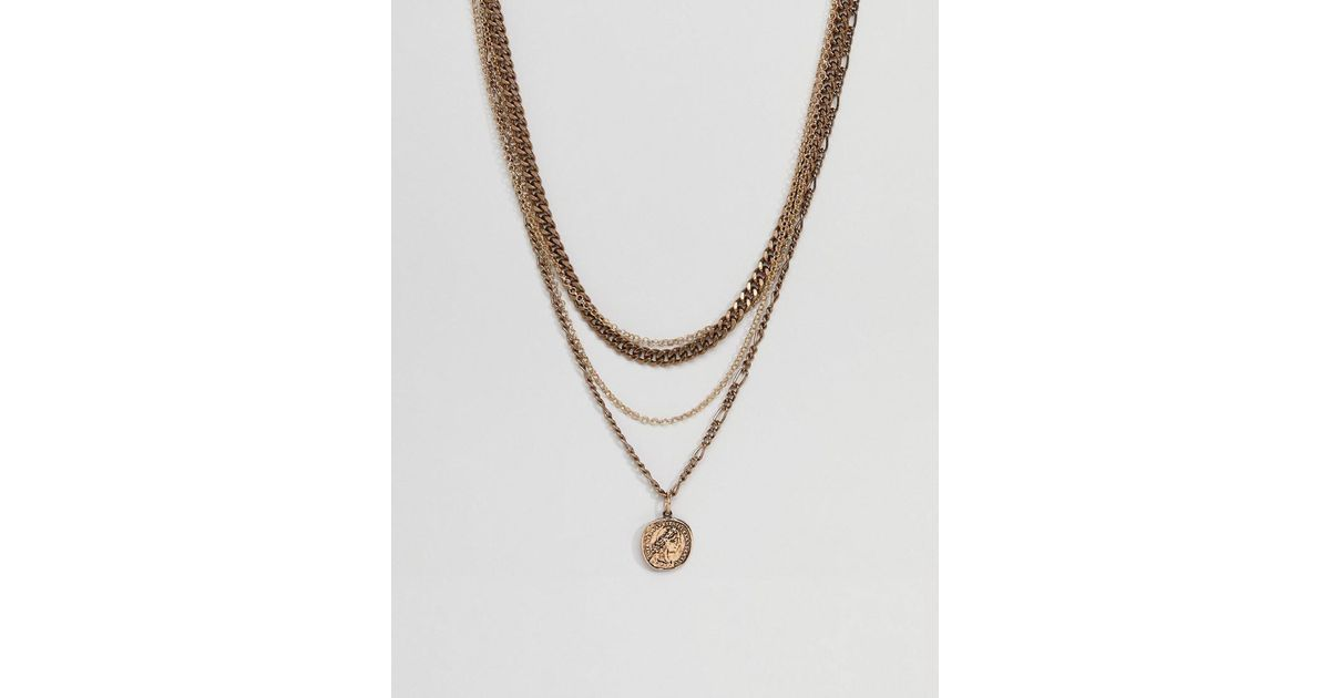 silver necklace zoom or chains fullxfull bronze listing neck il