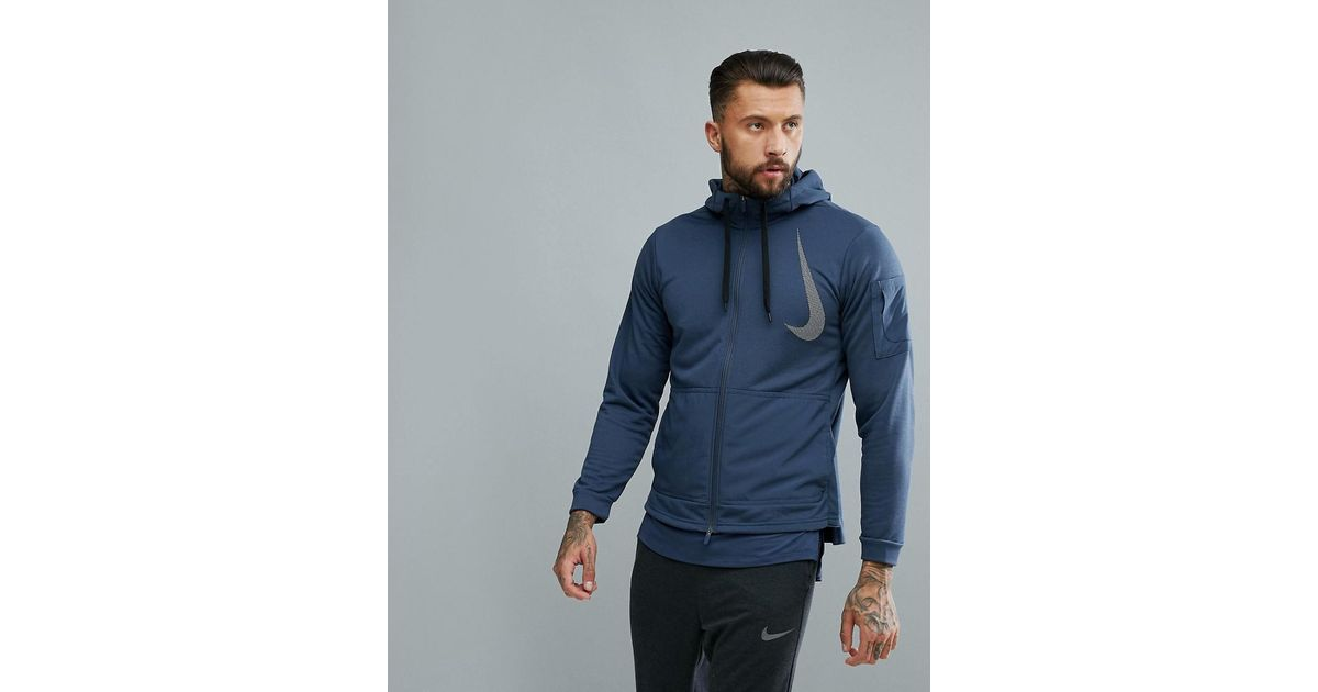 57d295f040d437 Nike  project X  Dry Fleece Hoodie In Navy Aa4656-471 in Blue for Men - Lyst