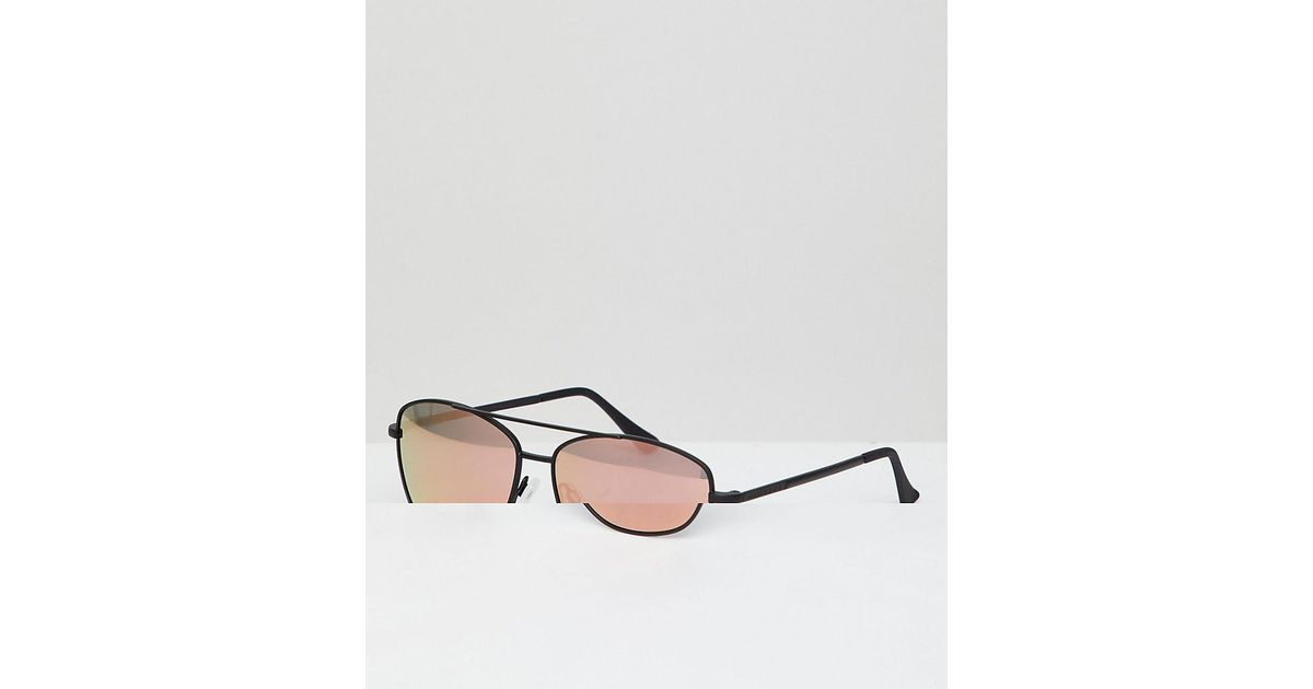 d7798a989 Hawkers Hawkers Lax Square Sunglasses In Black With Rose Gold Lenses in  Black for Men - Lyst