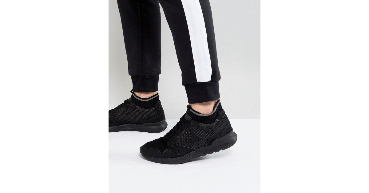 556d6ed3d168 Le Coq Sportif Omicron Triple Reflective Sneakers In Black 1720063 in Black  for Men - Lyst