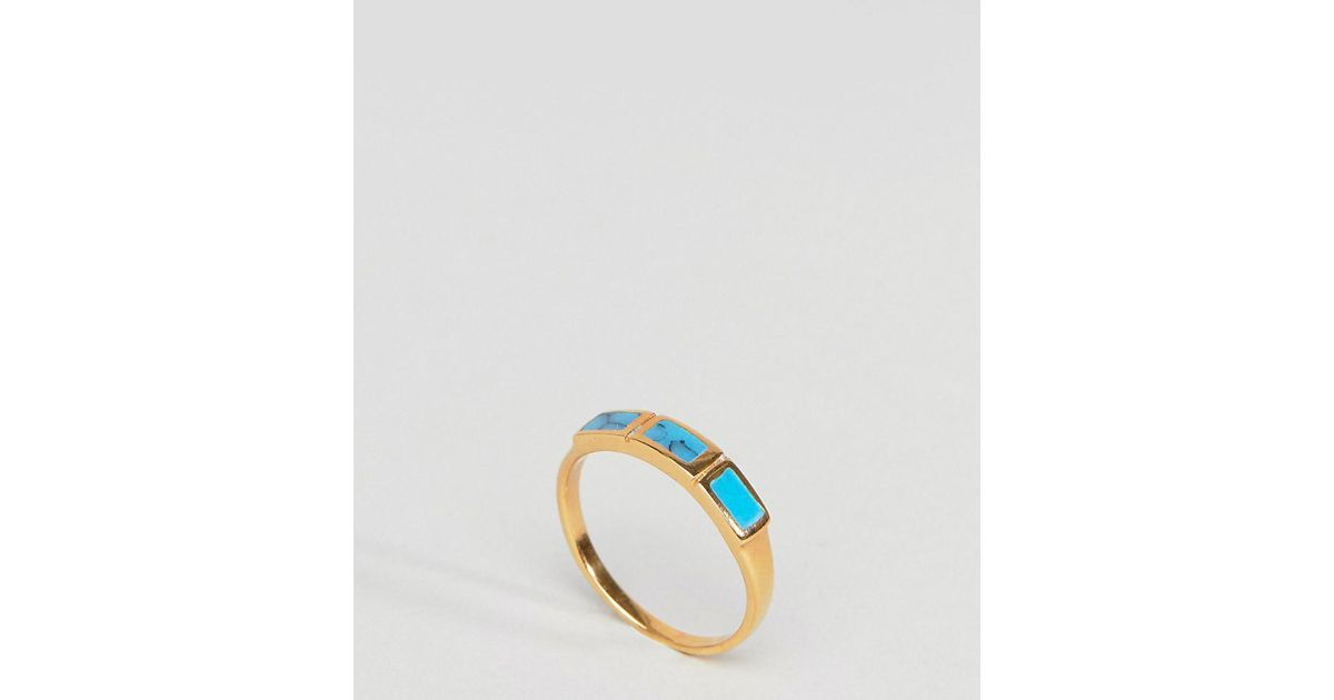 Asos Curve ASOS DESIGN Curve pinky ring with filigree detail in gold - Gold