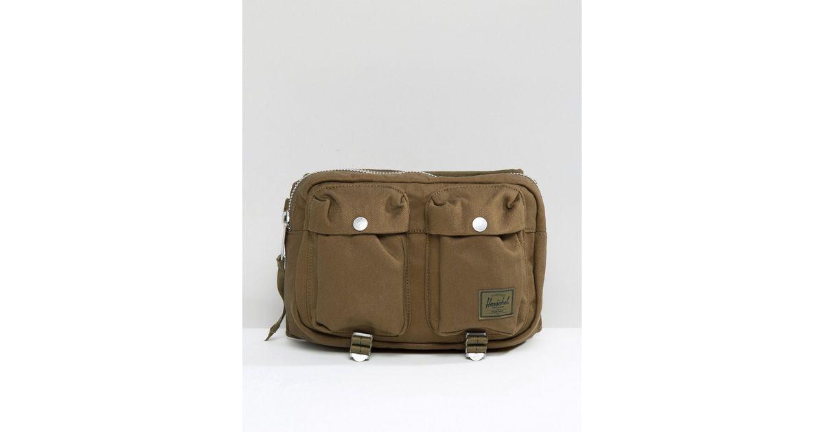 Lyst - Herschel Supply Co. Eighteen Bum Bag In Military Inspired Army  Surplus 6l - Green in Green for Men eca6bb5d46