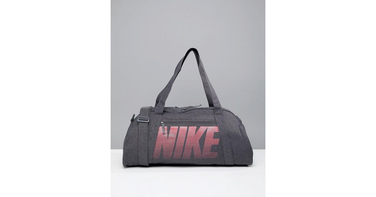 e81e247e56bc82 Nike Nike Gym Club Training Duffel Bag In Grey in Gray - Lyst