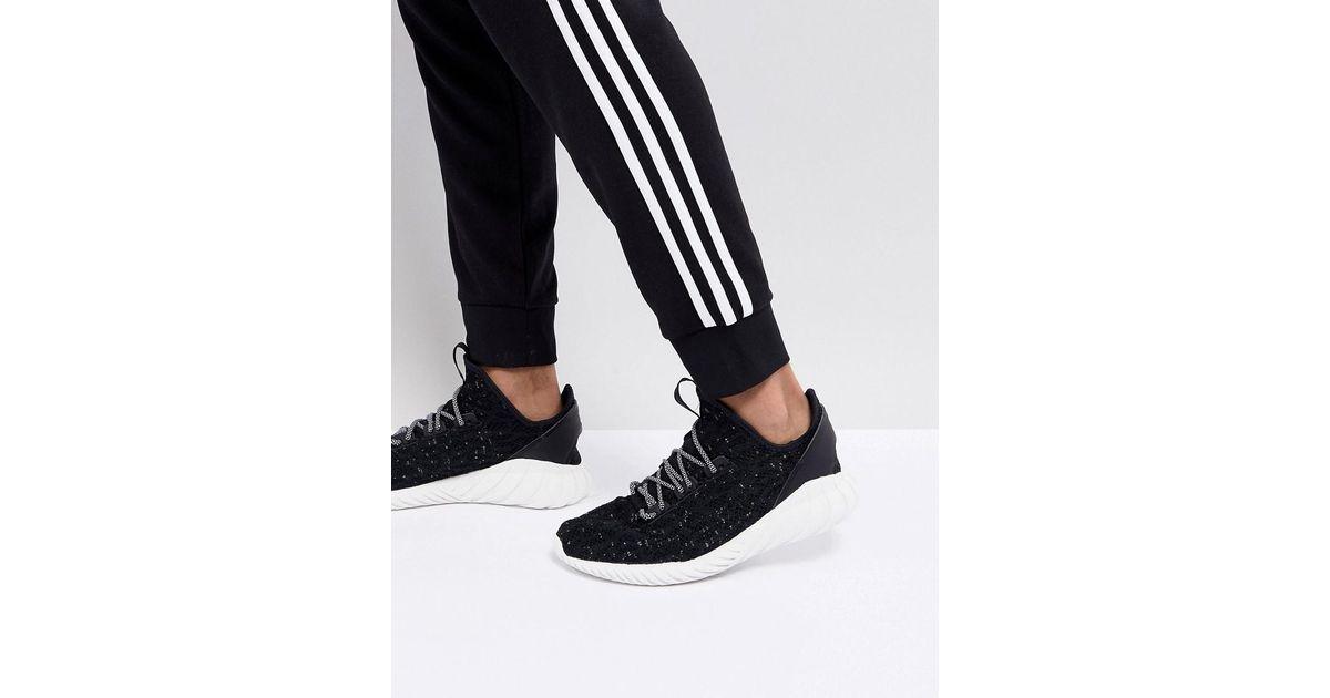 adidas Originals Tubular Doom Sock Primeknit Baskets Noir CQ0940