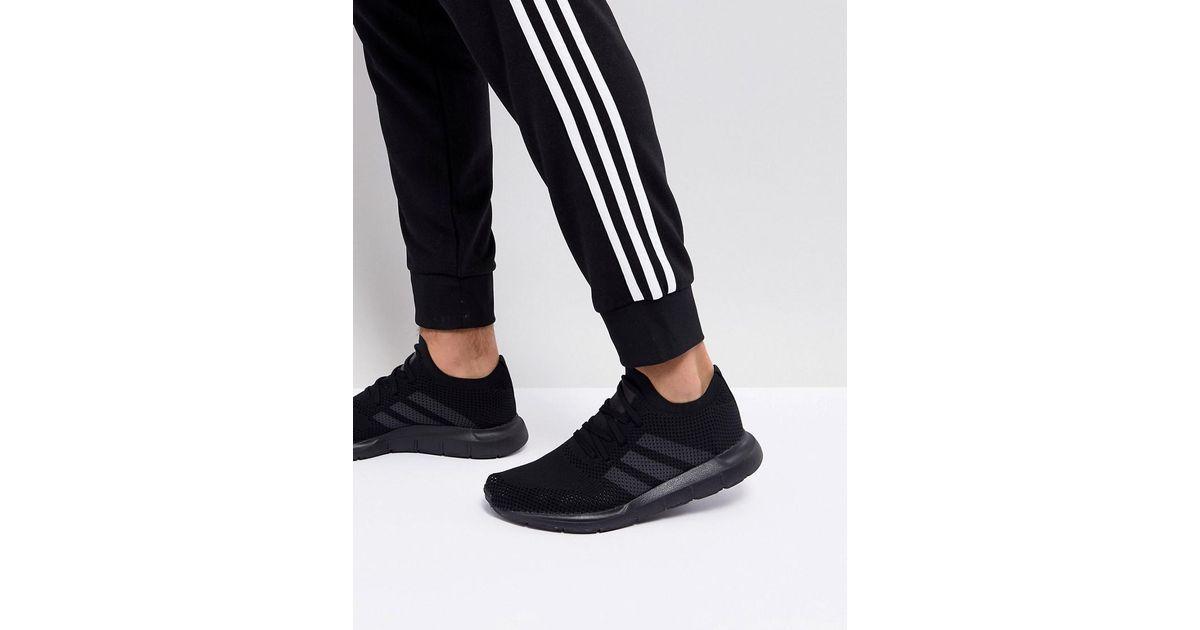 half off bd96e 11c11 adidas Originals Swift Run Primeknit Sneakers In Black Cq2893 in Black for  Men - Lyst