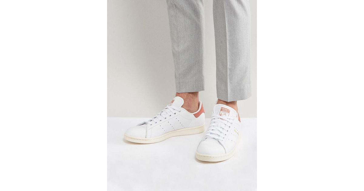Lyst adidas Originals Stan Smith en formadores en blanco cp9702 en Smith blanco a47c8b