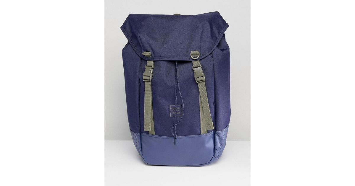Lyst - Herschel Supply Co. Iona Aspect Backpack 24l in Blue for Men 756127f2f1648