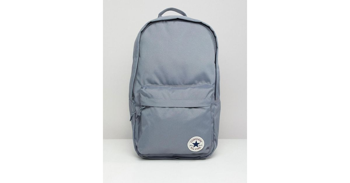 4414cdebb4b7 Lyst - Converse Backpack In Grey 10005987-a03 in Gray for Men