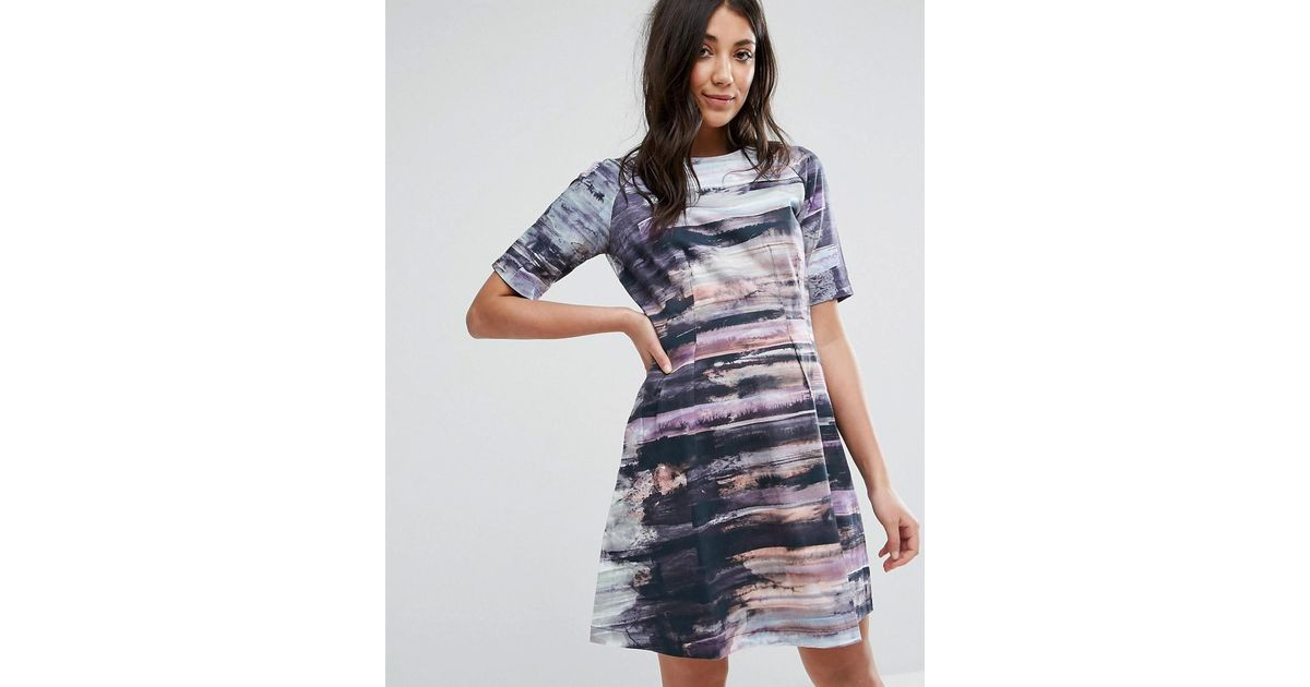 Lavand Printed Skater Dress Clearance Outlet Locations Cheap Outlet Locations Free Shipping Lowest Price xEqoHRkOVz