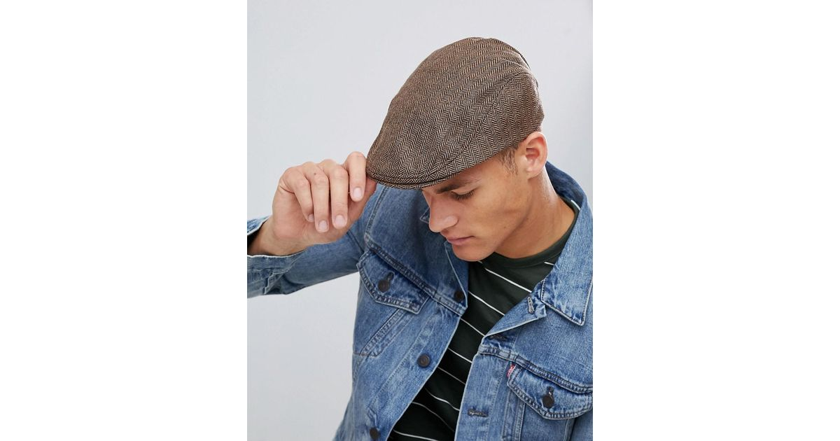 6cac937c0e French Connection Benjamin Flat Cap for Men - Lyst