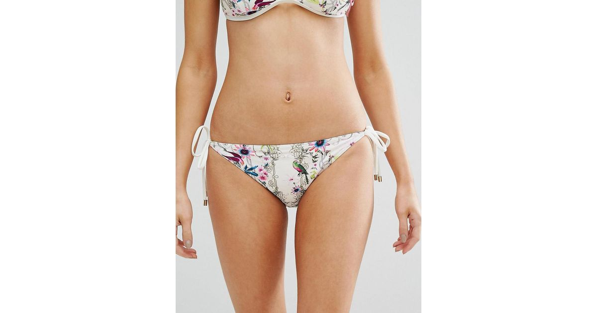 Sale Visa Payment Roular Bikini Bottom - Yellow Ted Baker Great Deals mMBasF8F