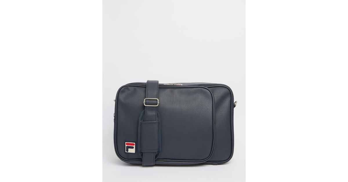 723c0c1eb2 Fila Vintage Shoulder Bag in Gray for Men (Blue)