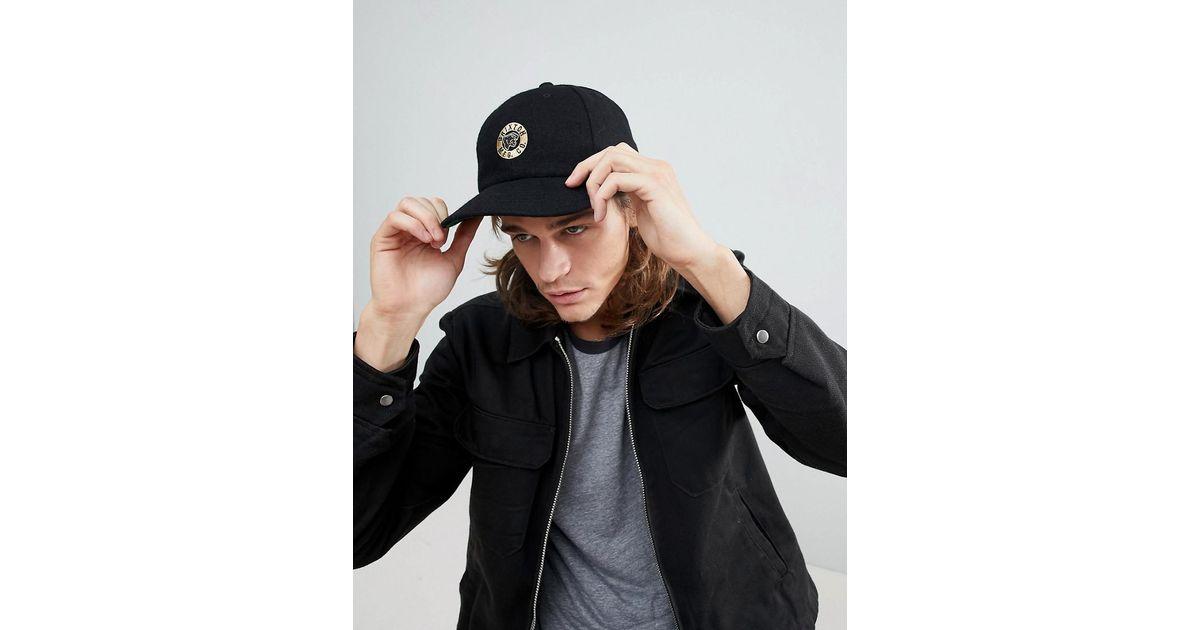 Prowler Snapback Cap With Logo - Black Brixton tYliXPVVt