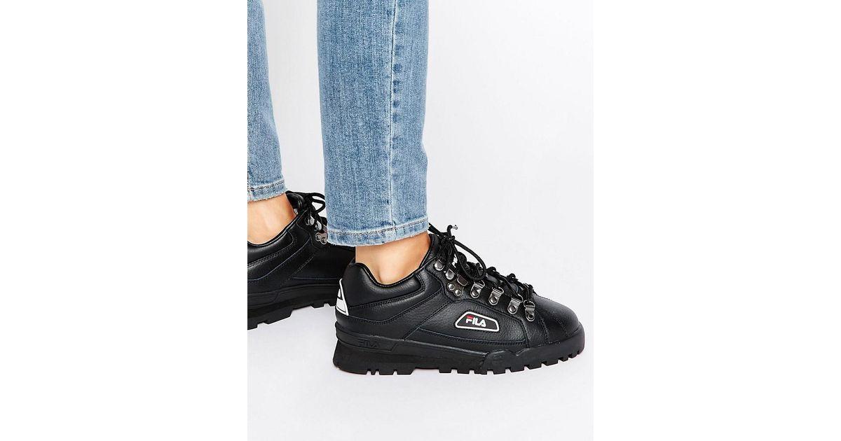1251c4a7ebcf Lyst - Fila Trailblazer Boots In Black in Black