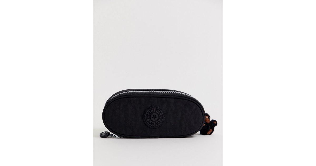 0f8a57dbf3eb Kipling Unisex Zip Case In Black in Black for Men - Lyst
