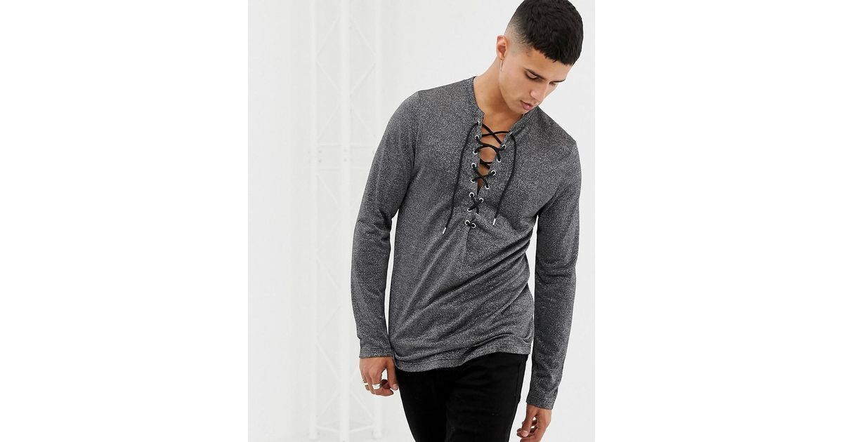 7220ff1a301f82 asos-silver-Asos-Longline-Long-Sleeve-T-shirt-With-Deep-V-Neck-In-Silver-Metallic-Fabric.jpeg