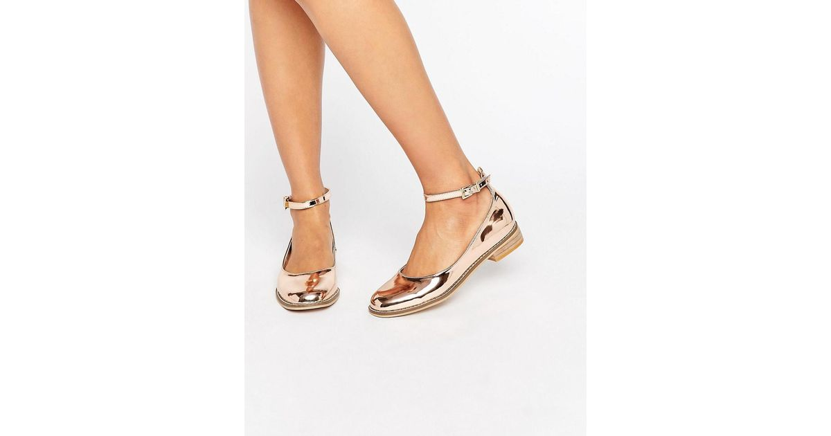 Asos Minted Flat Shoes